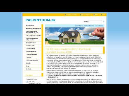 www.pasivnydom.sk