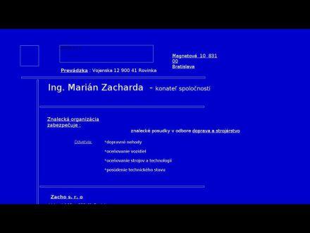www.zacharda.sk
