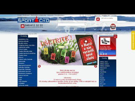 www.sportacko.sk