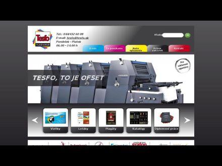 www.tesfo.sk