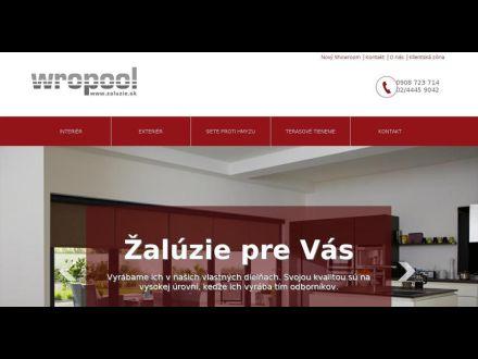 www.zaluzie.sk