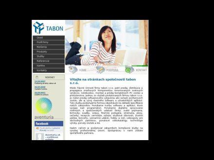 www.tabon.sk