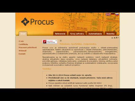 www.procus.sk
