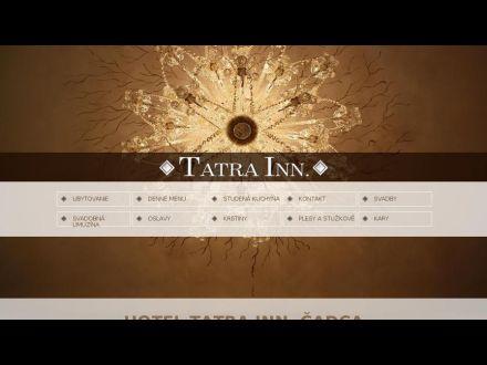 www.tatrainn.sk