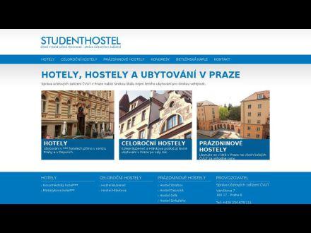 www.studenthostel.cz