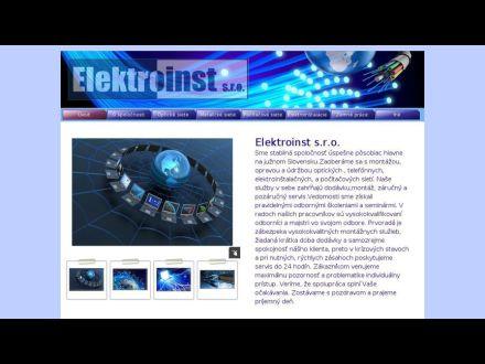 www.elektroinst.sk