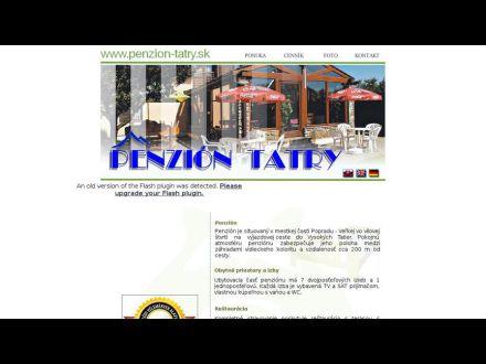 www.penzion-tatry.sk