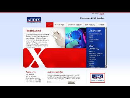 www.audix.sk