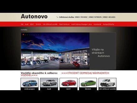 www.autonovo.sk