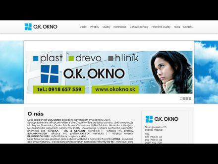 www.okokno.sk