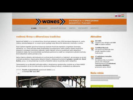 www.wanes.sk