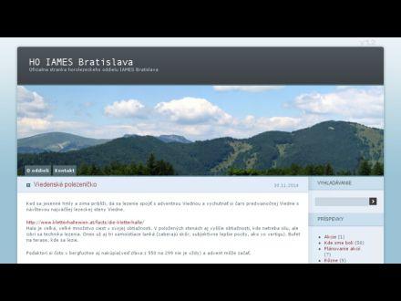 www.iames.sk