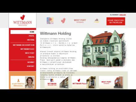 www.wittmannholding.sk