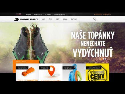 www.alpinepro.sk