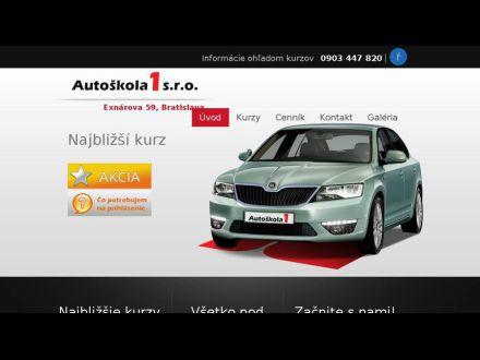 www.autoskola1.sk
