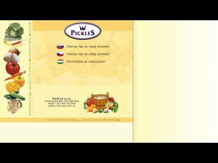 www.pickles.sk