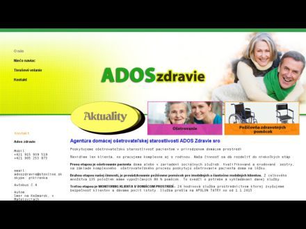 www.adoszdravie.sk