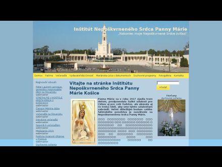 www.maria.sk