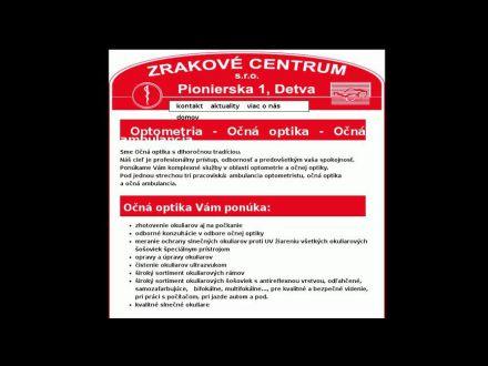 www.zrakovecentrum.sk