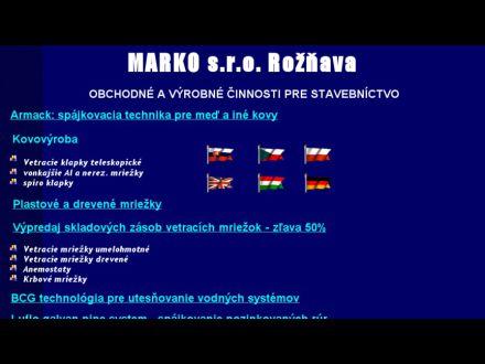 www.marko-roznava.sk