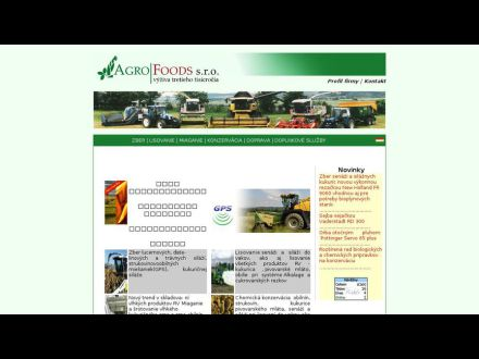 www.agrofoods.sk