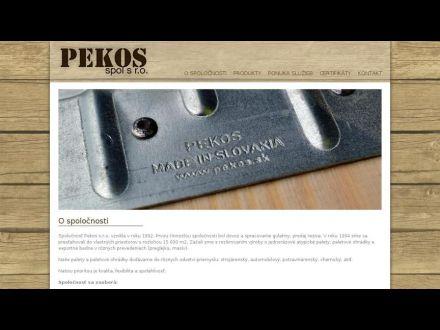 www.pekos.sk