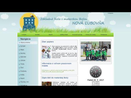www.zssmsnovalubovna.edupage.org