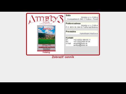 www.ametys.sk