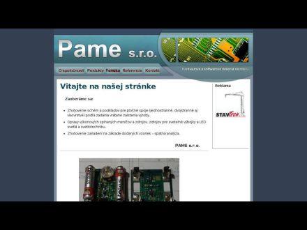www.pame.sk