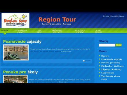 www.regiontour.sk