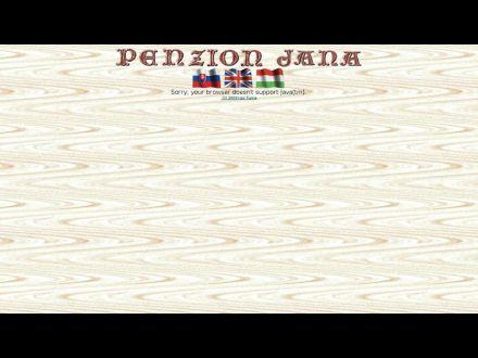 www.penzionjana.sk