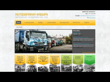 www.autodoprava-kroupa.cz