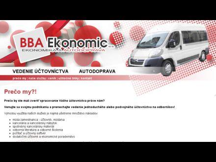 www.bbaekonomic.sk