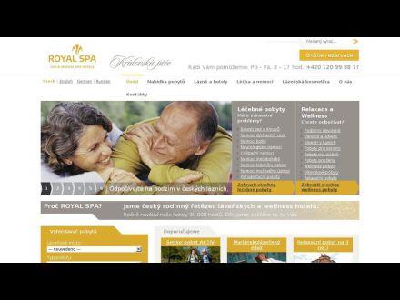 www.royalspa.cz