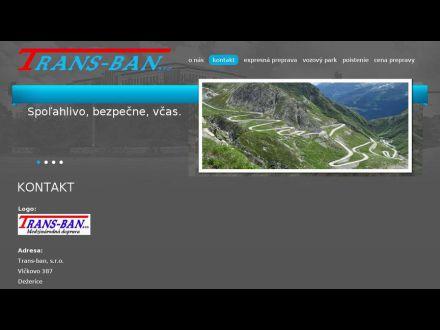 www.trans-ban.eu