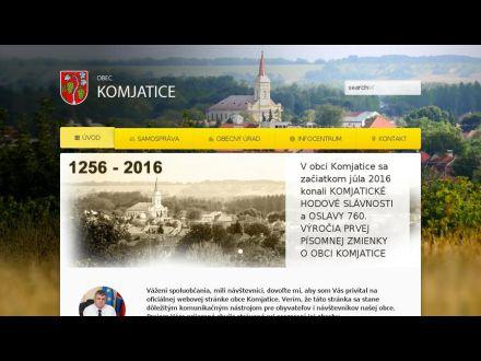 www.komjatice.sk