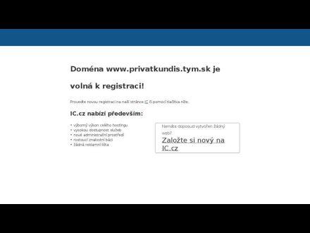 www.privatkundis.tym.sk