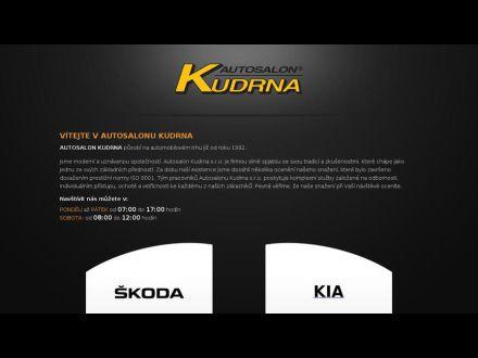 www.autosalonkudrna.cz