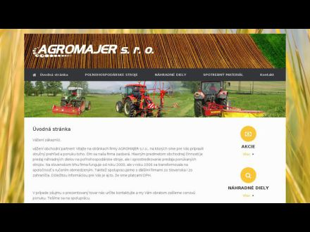 www.agromajer.sk