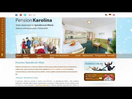 www.pensionkarolina.cz