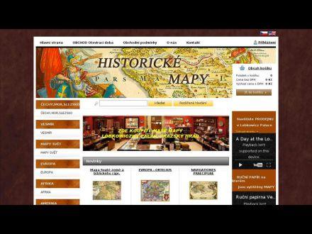 www.historicke-mapy.cz