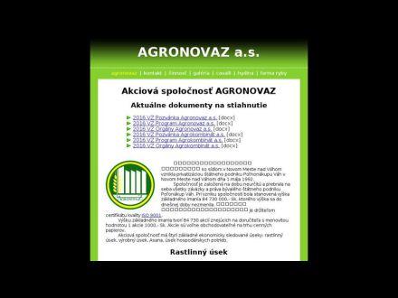www.agronovaz.sk