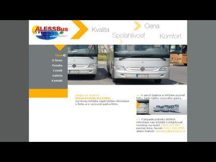 www.alessbus.sk