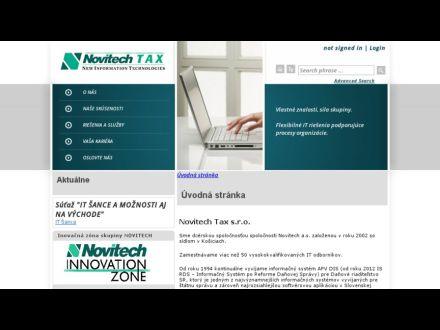 www.tax.novitech.sk