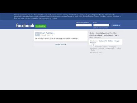 sk-sk.facebook.com/pages/Pikart-PubCafe/60700603264