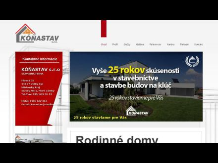 www.konastav.sk