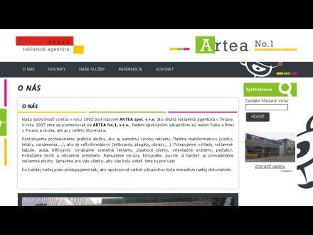 www.artea.sk