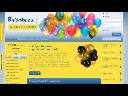 www.balonky.cz