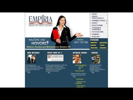 www.empiriajazyky.eu