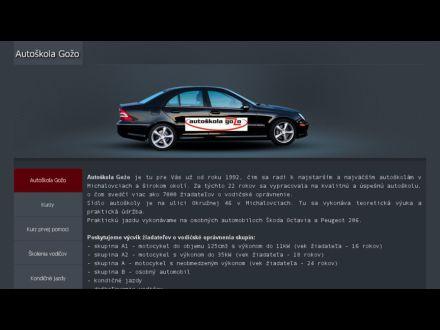 www.autoskolagozo.sk